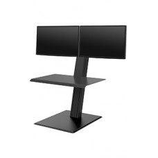 Humanscale QuickStand Eco - Dual Monitor (Black)