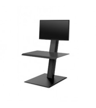 Humanscale QuickStand Eco - Single Monitor (Black)