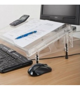 Microdesk Clear Acrylic Document Writing Platform - Regular