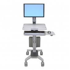 WorkFit-C, Single LD Sit-Stand Workstation (Mobile Desk)