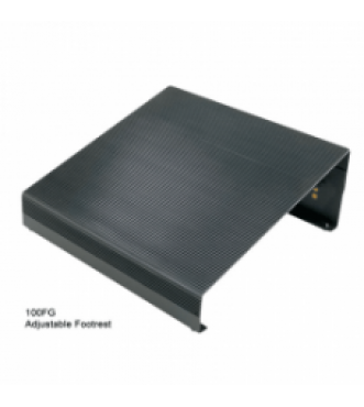 Right Angle Adjustable Footrest with non-skid surface