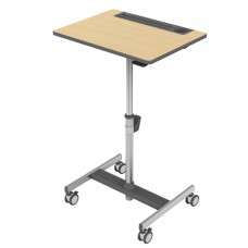 LearnFit SE2 Sit-Stand Desk (fusion maple)