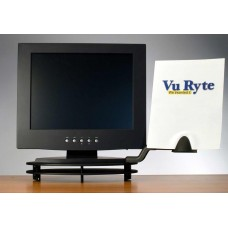 VuRyser Flat Panel Stackable Monitor Riser with Arm