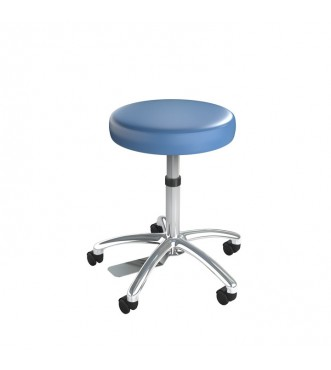 Ultimate Medical Stool Chrome Finish