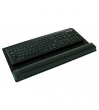 Premier Foam keyboard wrist pad on phenolic board